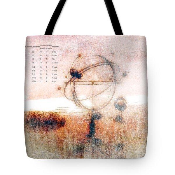 Orrery Tote Bag by Bob Orsillo
