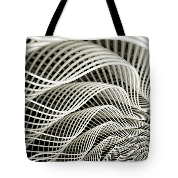 Oscillation Tote Bag by Kevin Trow