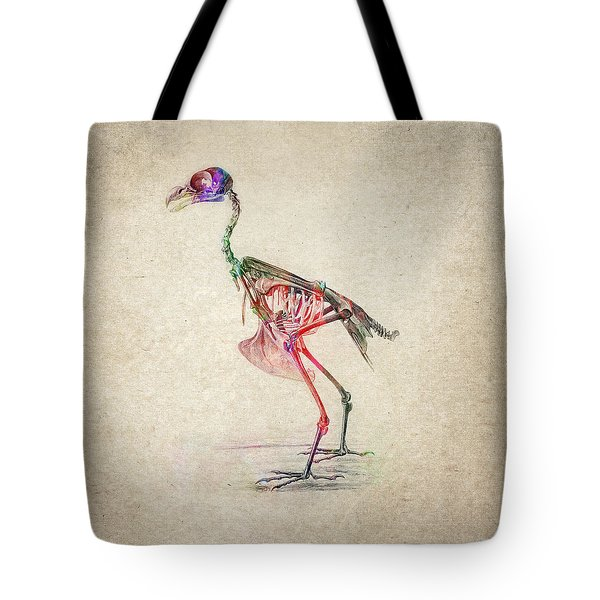 Osteology of birds Tote Bag by Aged Pixel