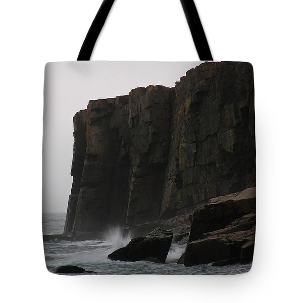 Otter Cliff Tote Bag by Juergen Roth