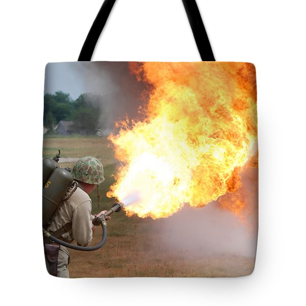 Ouch Tote Bag by Thomas Woolworth