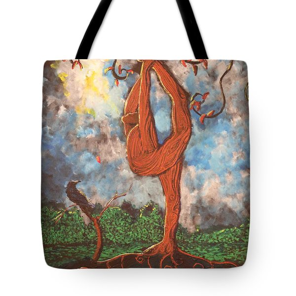 Our Dance With Nature Tote Bag by Stefan Duncan