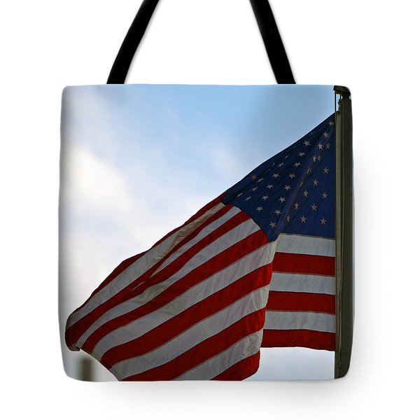 Our Flag Was Still There Tote Bag by Shoal Hollingsworth