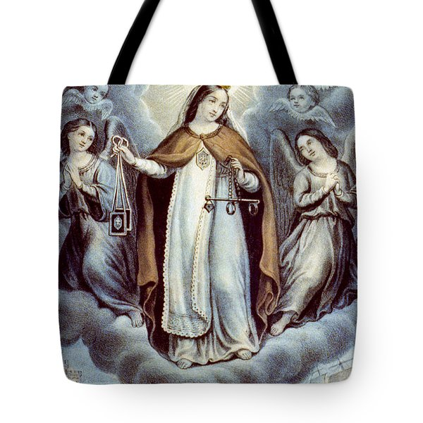 Our Lady Of Mercy Circa 1856  Tote Bag by Aged Pixel