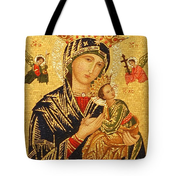 Our Lady of Perpetual Help  Tote Bag by Philip Ralley
