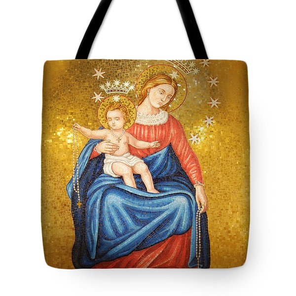 Our Lady Of Pompeii Tote Bag by Philip Ralley
