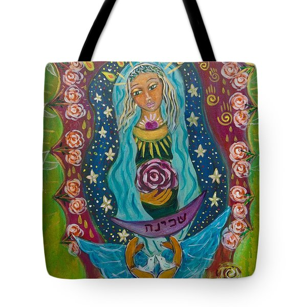 Our Lady Of Rebirth And Renewal Tote Bag by Havi Mandell