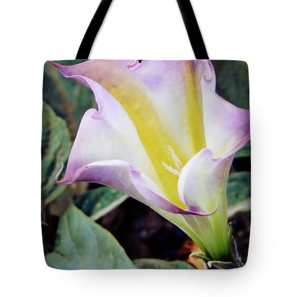 Our Lady's Little Glass Tote Bag by Pamela Patch
