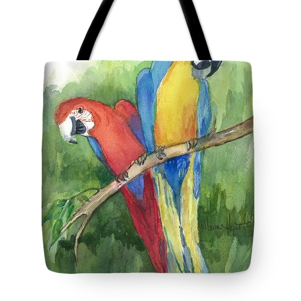 Out For Lunch In The Wild Tote Bag by Maria Hunt