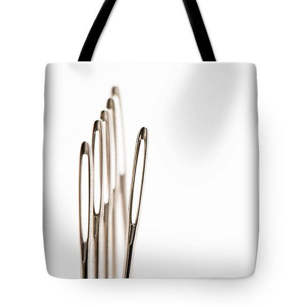 Out Of Line Tote Bag by Anne Gilbert