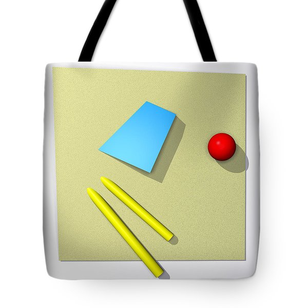 Out Of Square Tote Bag by Richard Rizzo