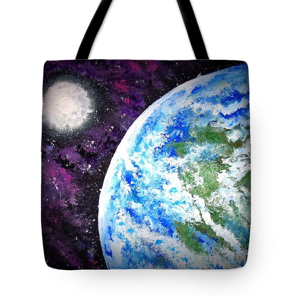 Out Of This World Tote Bag by Daniel Nadeau