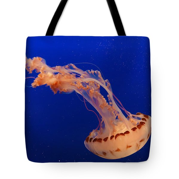 Out Of This World - Jellyfish Tote Bag by Angela A Stanton