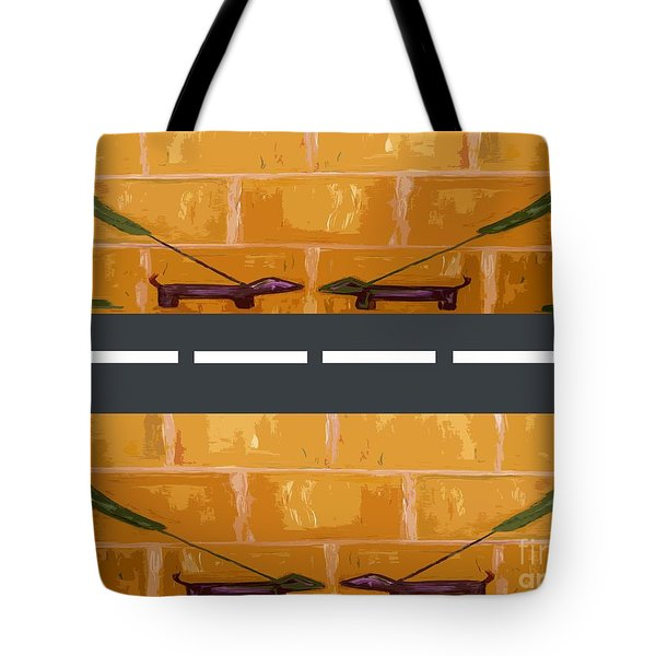 OUT ON THE STREET Tote Bag by Patrick J Murphy