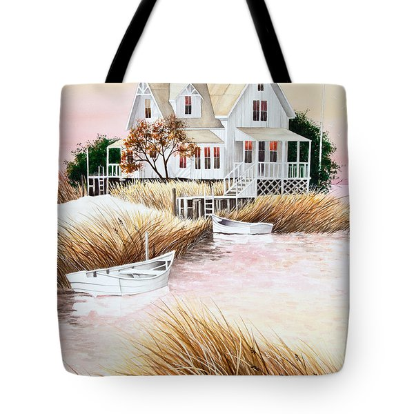 Outer Banks Summer Morning Tote Bag by Michelle Wiarda