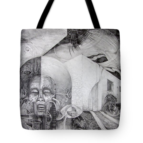 Outskirts Of Necropolis Tote Bag by Otto Rapp