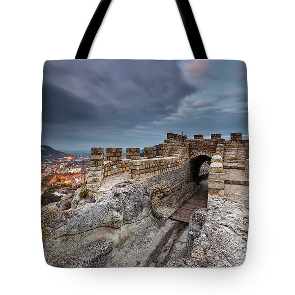 Ovech Fortress Tote Bag by Evgeni Dinev