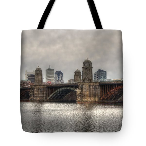 Overcast on the Longfellow Tote Bag by Joann Vitali