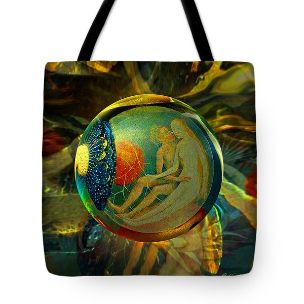 Ovule Of Eden  Tote Bag by Robin Moline