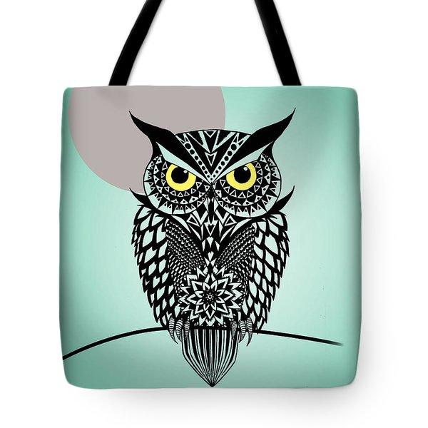 Owl 5 Tote Bag by Mark Ashkenazi