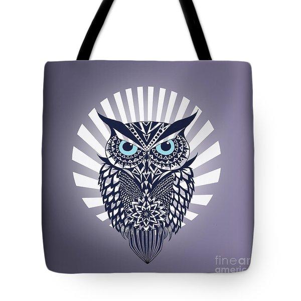Owl Tote Bag by Mark Ashkenazi