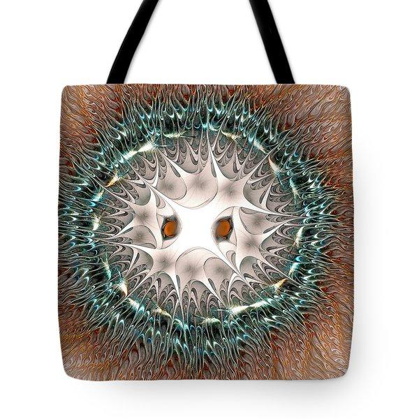 Owl Spirit Tote Bag by Anastasiya Malakhova
