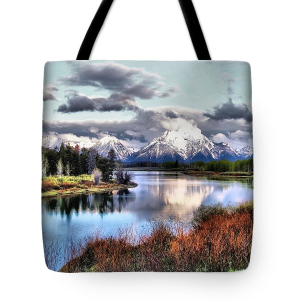 Oxbow Bend Tote Bag by Dan Sproul