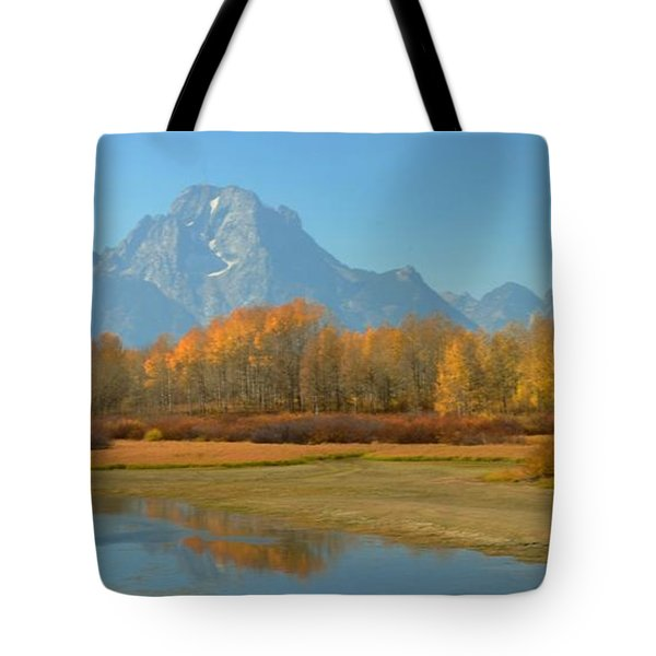 OxBow Bend Tote Bag by Kathleen Struckle