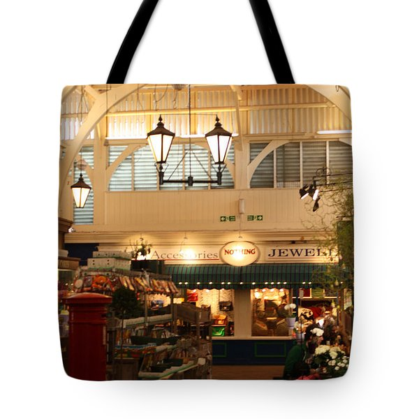 Oxford's Covered Market Tote Bag by Terri Waters
