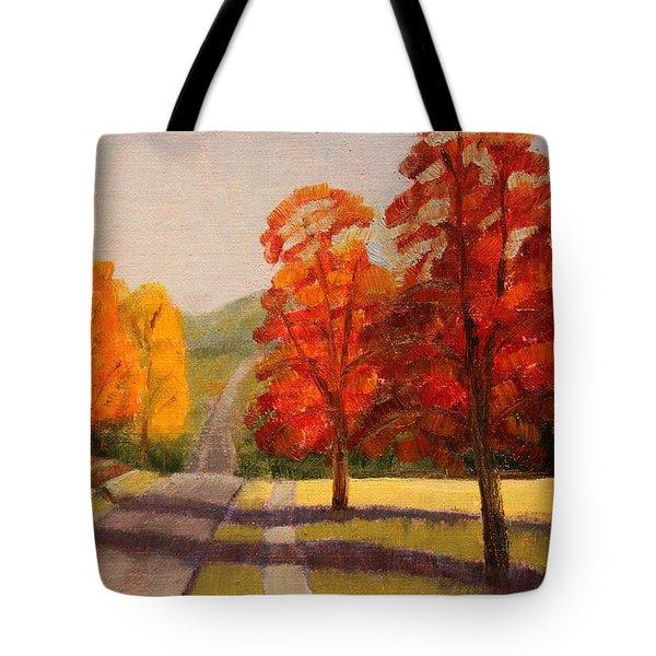 Ozarks October Tote Bag by Ruth Soller