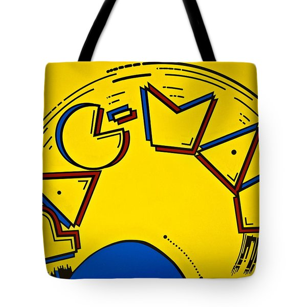 Pac-Man Tote Bag by Frozen in Time Fine Art Photography