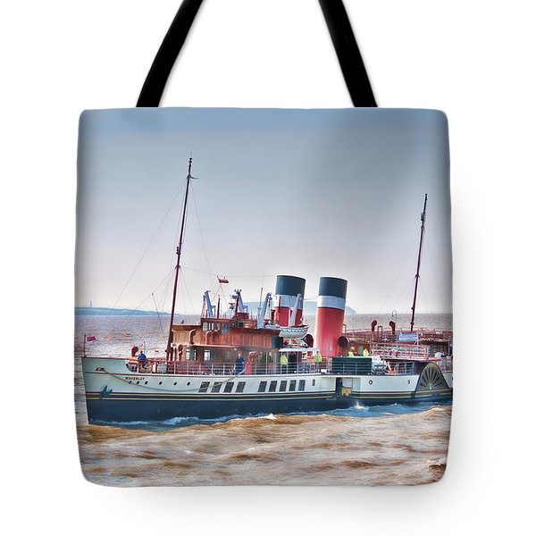 Paddle Steamer Waverley Tote Bag by Steve Purnell