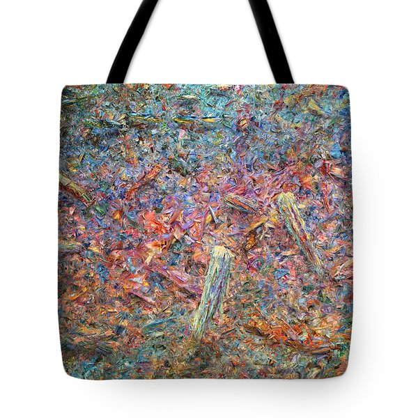 Paint Number 37 Tote Bag by James W Johnson