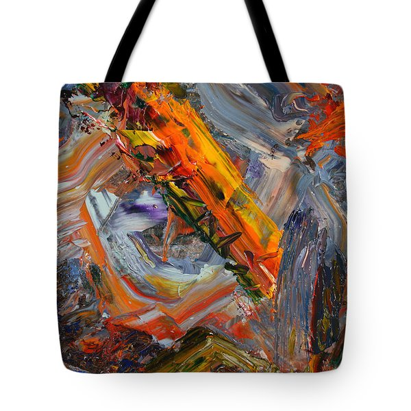 Paint Number 44 Tote Bag by James W Johnson