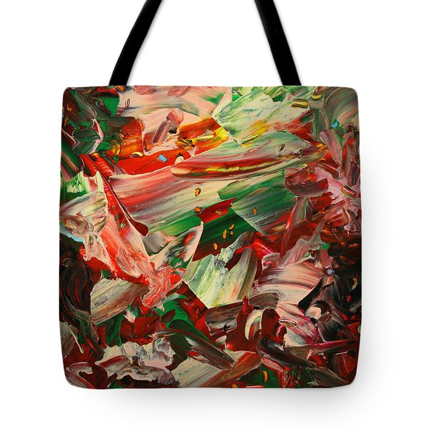Paint Number 48 Tote Bag by James W Johnson