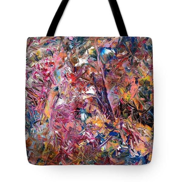 Paint number 49 Tote Bag by James W Johnson