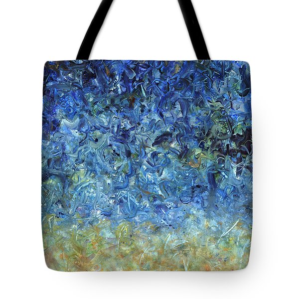 Paint number 59 Tote Bag by James W Johnson