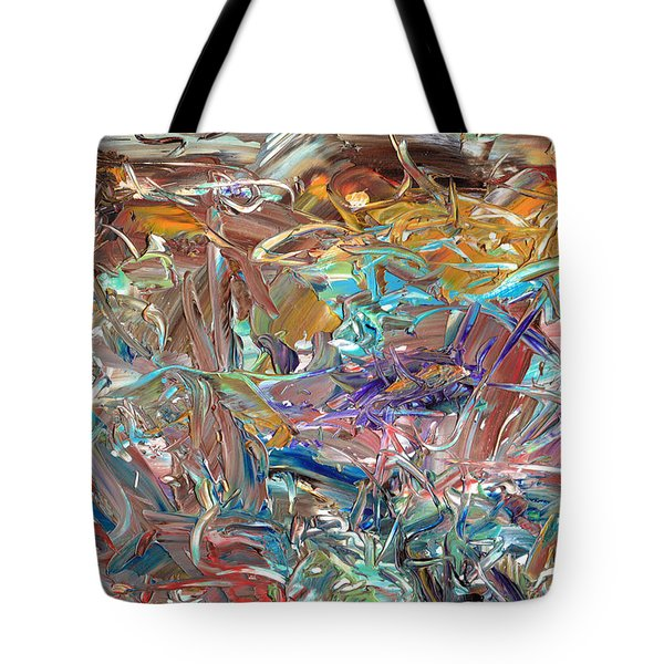 Paint number46 Tote Bag by James W Johnson