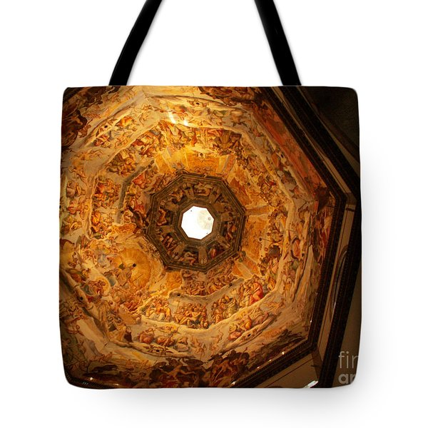 Painted Dome Tote Bag by Evgeny Pisarev