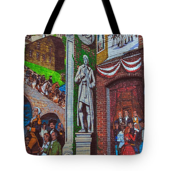 Painted History 1 Tote Bag by Joann Vitali