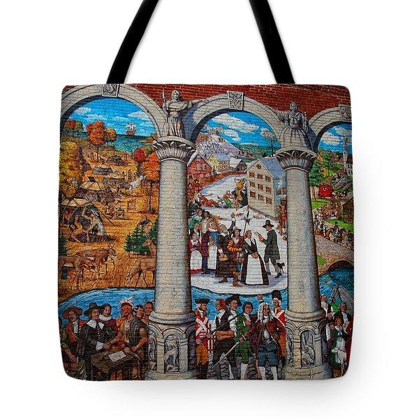 Painted History 2 Tote Bag by Joann Vitali