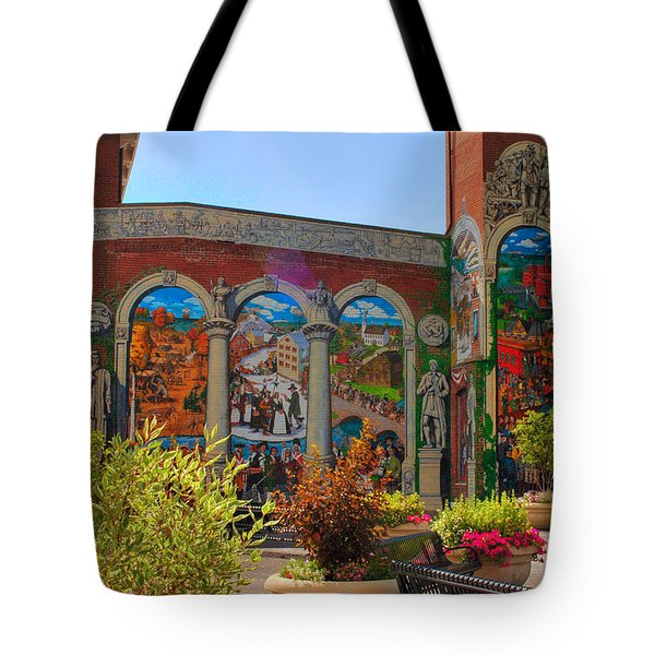 Painted History 4 Tote Bag by Joann Vitali