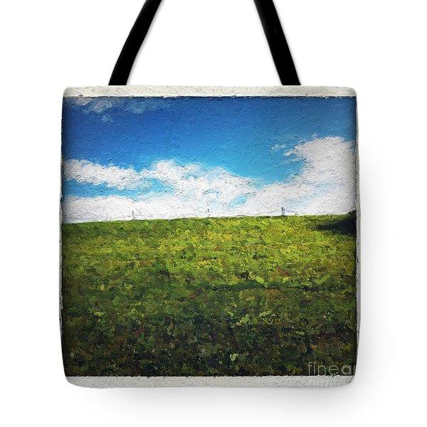 Painted Sky Tote Bag by Linda Woods