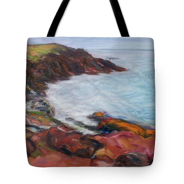 Painterly - Bold Seascape Tote Bag by Quin Sweetman