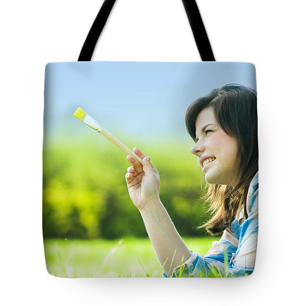 Painting The World Tote Bag by Michal Bednarek