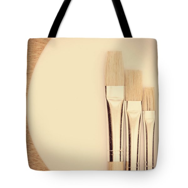 Painting Tools Tote Bag by Wim Lanclus