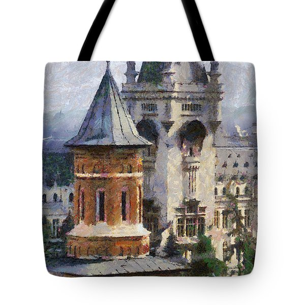 Palace Of Culture Tote Bag by Jeff Kolker