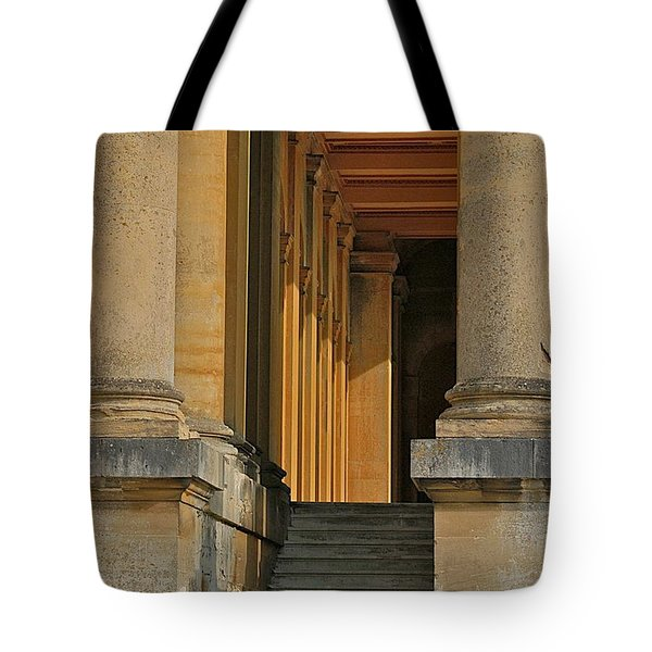 Palace Step Tote Bag by Joseph Yarbrough