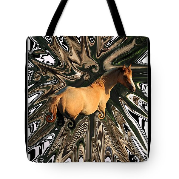Pale Horse Tote Bag by Aidan Moran