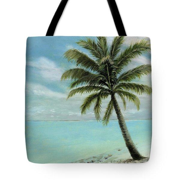 Palm Tree Study Tote Bag by Cecilia  Brendel